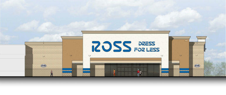 Regency Properties announced a 25,000 sq.ft. Ross store will be opened at Evansville's Village Commons in 2015.