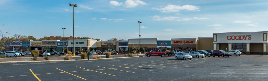 Improvements to Town Fair Shopping Center on West Broadway are among the reasons Regency Properties was recognized with the 2015 Business Impact Award by the Gibson County Chamber.