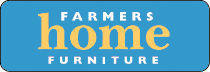 Farmers home furniture logo.